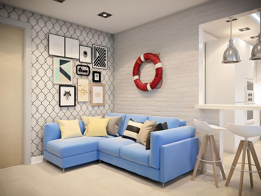Дизайн интерьера для вашей квартиры от 14$ за м²
